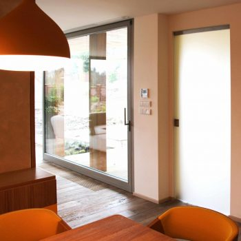 Dveře skleněné a skleněné stěny - 2
